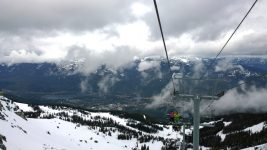 A view from a Whistler Blackcomb ski lift. (Ruth Hartnup/Flickr)