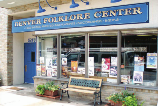 The Denver Folklore Center at 1893 S. Pearl St.