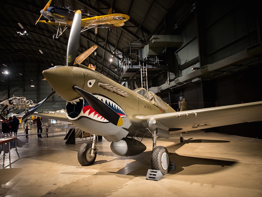 One of the P-40 fighters from WWII. (Flickr)