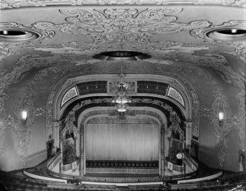 The Tabor Opera House at 16th and Curtis streets sometime between 1899 and 1920. (Denver Public Library/Western History Collection/X-24753)
