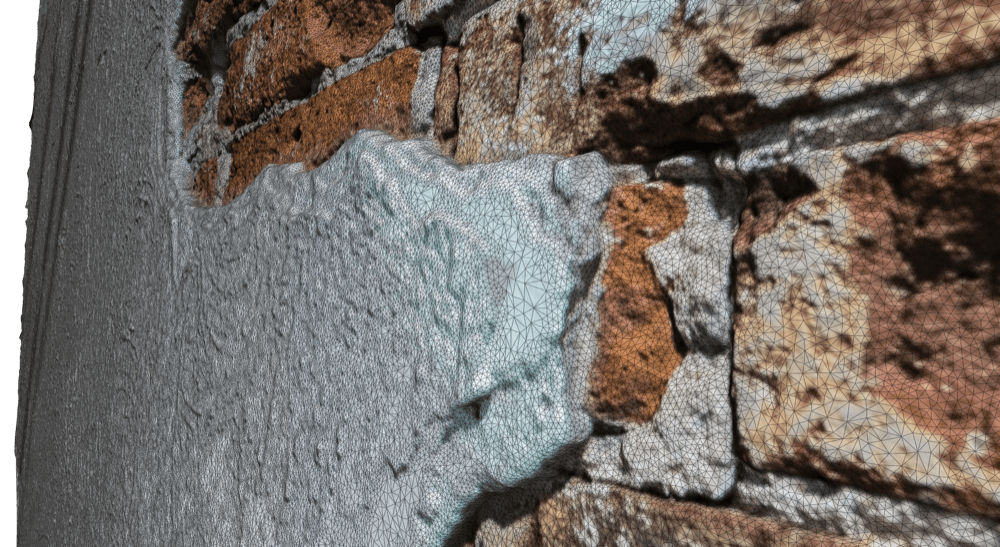 In photogrammetry, multiple photos are processed to create a detailed 3D model of a surface. (David Romero)
