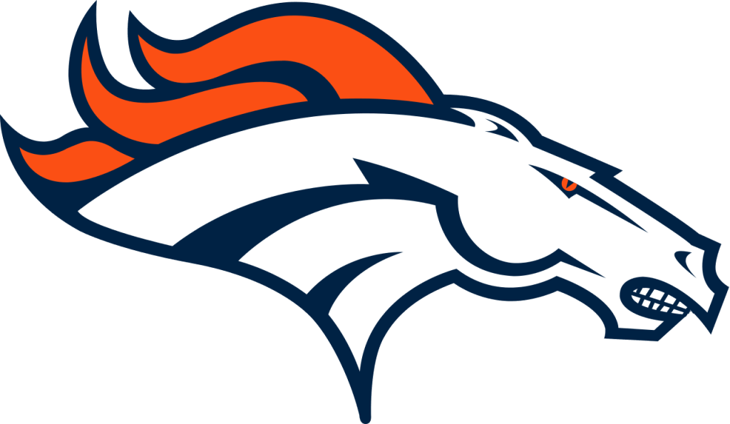 Artistic rendering of the Broncos logo with teeth. Presented under fair-use. Original logo copyright Denver Broncos.
