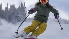 A skier. (Courtesy of Colorado Ski Country USA)