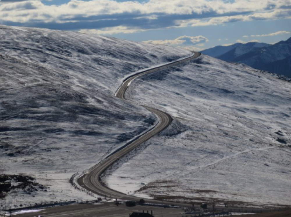 Trail Ridge Road. Nov. 9, 2016 (Rocky Mountain National Park via Twitter)