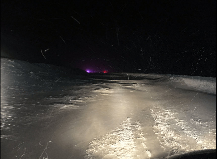An avalanche closed I-70 on Jan. 10. (Colorado State Patrol)