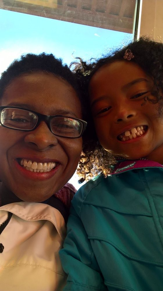 Kelet Robinson and her daughter, Abigail. (Courtesy Kelet Robinson)