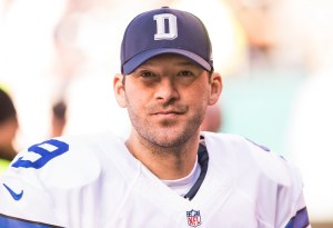 The Broncos are right to covet Tony Romo. (Bill Streicher/USA TODAY Sports)