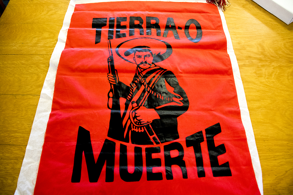 """Tierra-O Muerte."" (Denver Public Library/Western History Collection/Rodolfo ""Corky"" Gonzales Papers)  denver public library; dpl; cinco de mayo; chicano; denverite; denver; colorado; archive;"