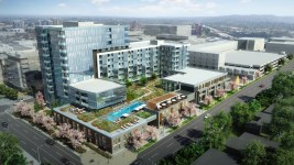 A rendering of the 206-unit Lakehouse condominium at  at 4202 West 17th Ave. (Courtesy of NAVA Real Estate Development)