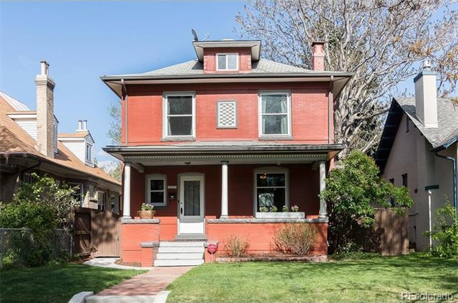 The exterior of 1054 Steele Street. (Courtesy of Redfin)