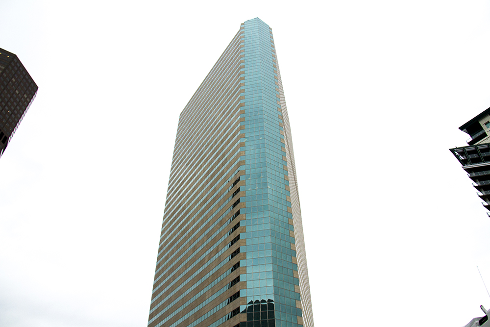 1999 Broadway, near Broadway and Welton Street. 544 feet tall, 43 Stories. (Kevin J. Beaty/Denverite)