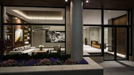 A rendering of the lobby of the Cherry Creek St. Paul Collection. (Courtesy of BMC Investments)