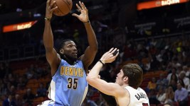 Kenneth Faried visited India last month. (Steve Mitchell/USA Today Sports)