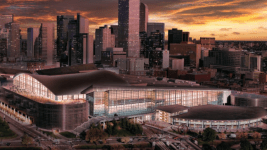 A rendering of an expanded Colorado Convention Center. (Colorado Convention Center Master Plan)