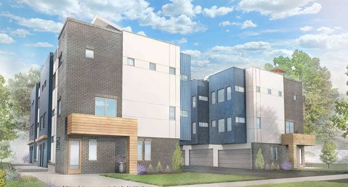 SoBi Townhomes at 2176 - 2190 S Birch St. (Courtesy Photo)