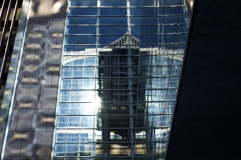 A shiny building downtown. (Kevin J. Beaty/Denverite)  downtown; denver; colorado; denverite; kevinjbeaty; cowx; weather; sunny;