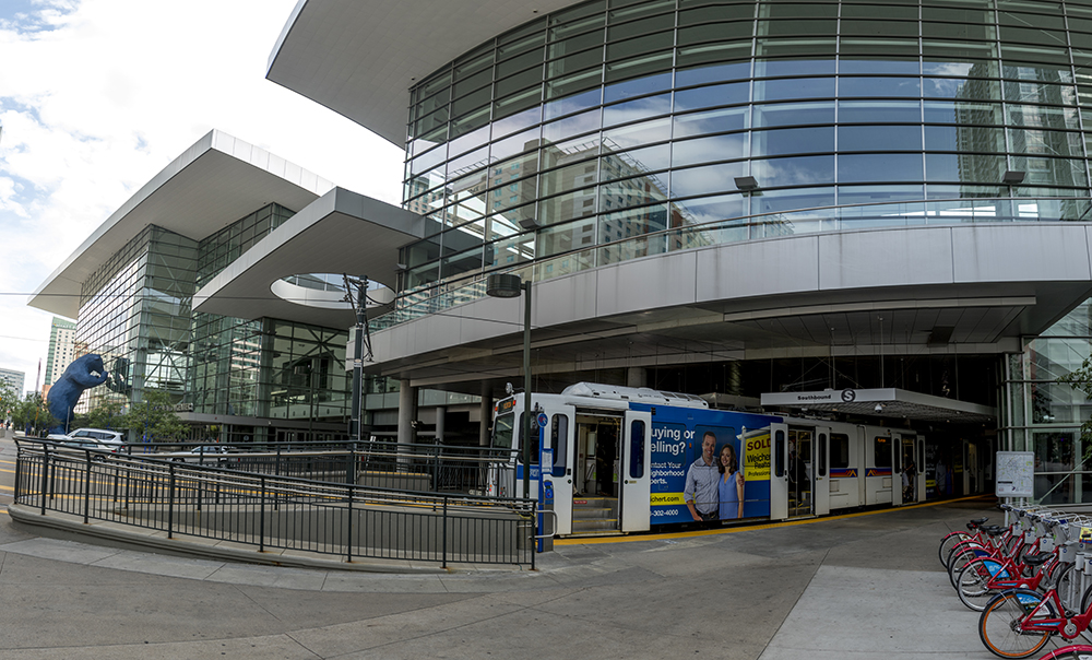 The RTD Convention Center Station. (Kevin J. Beaty/Denverite)