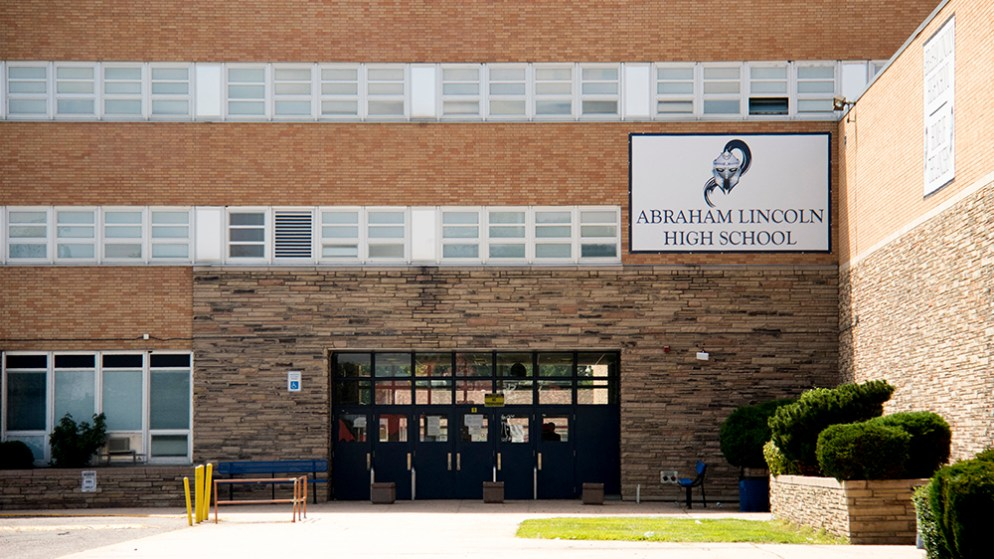 Abraham Lincoln High School. (Kevin J. Beaty/Denverite)
