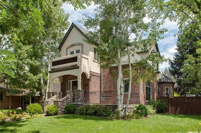 The exterior of 1090 South Fillmore Way, Denver, CO 80209. (Courtesy of Redfin)