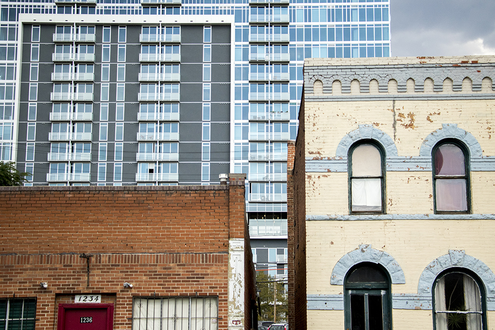 Old and new homes in the Golden Triangle. (Kevin J. Beaty/Denverite)  golden triangle; denver; colorado; denverite; kevinjbeaty; development; construction; residential real estate;