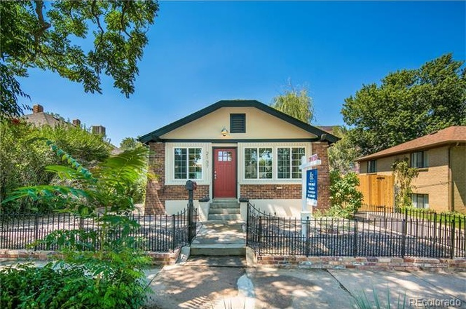 The exterior of 2137 S. Cherokee St. (Courtesy of Redfin)