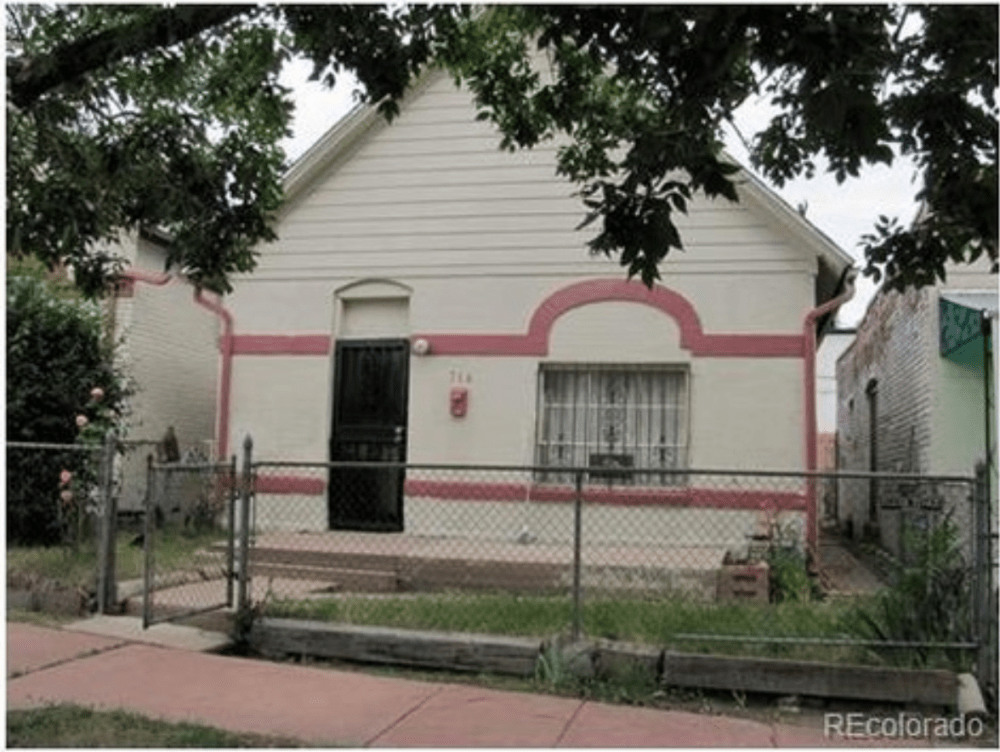 The exterior of 714 Mariposa Street. (Courtesy of Redfin)