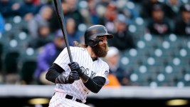Charlie Blackmon recorded hits Nos. 206, 207 and 208 on Wednesday. (Isaiah J. Downing/USA Today Sports)