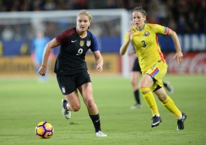Lindsey Horan decided to forego college and turn pro in 2012. (Gary A. Vasquez/USA Today Sports)