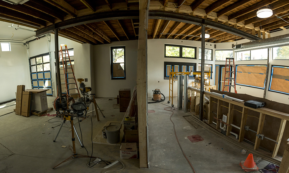 The future Novel Strand Brewing Co. in the Baker neighborhood. (Kevin J. Beaty/Denverite)