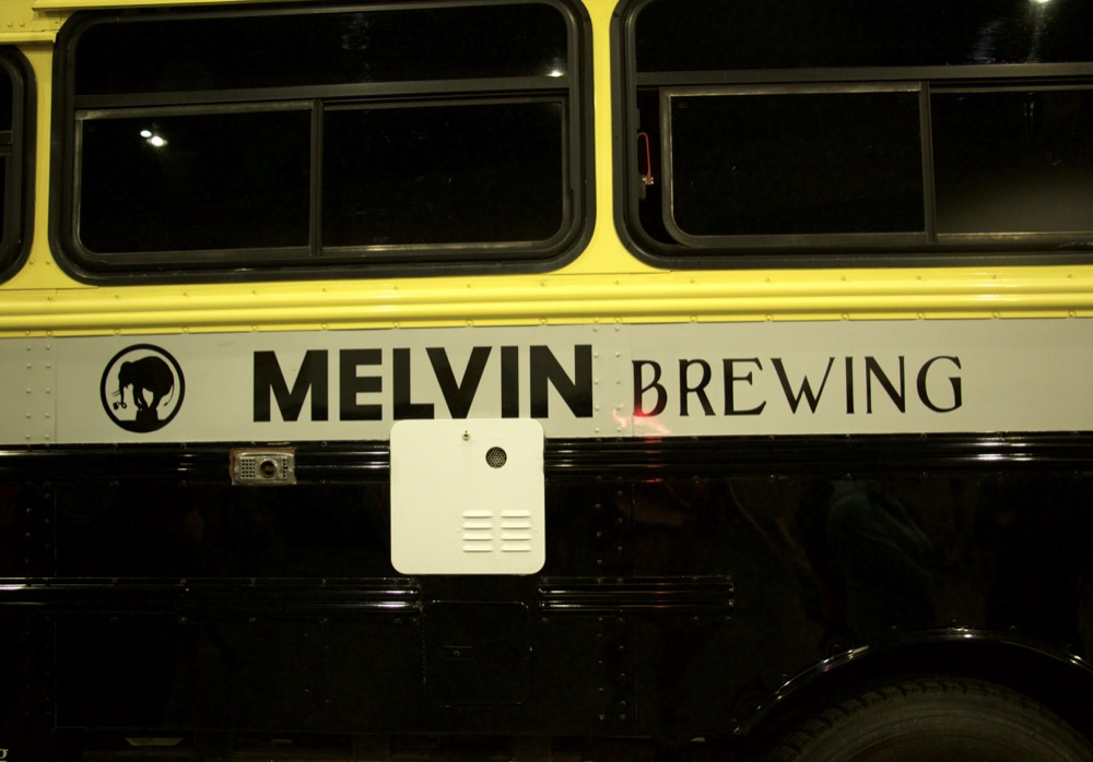Melving Brewing at the 2017 Great American Beer Festival. (Adrian D. Garcia/Denverite)