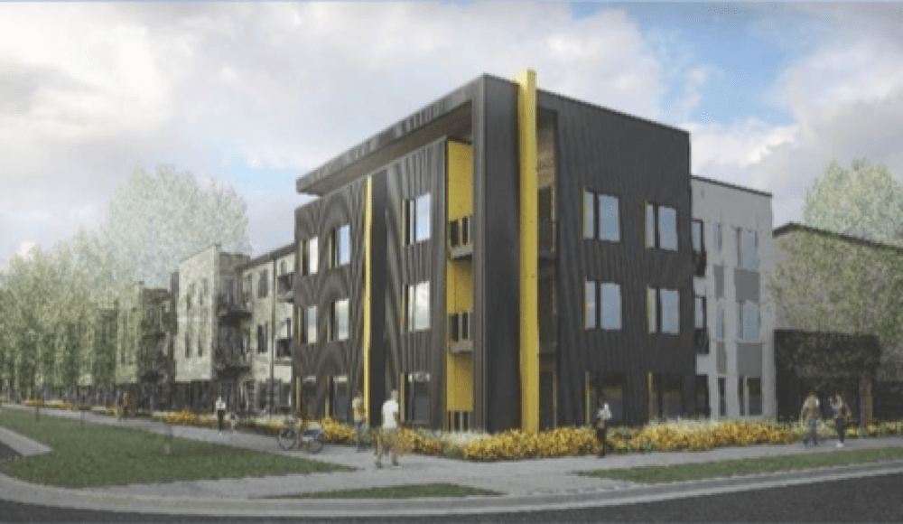 Moline@Stapleton will add 180 units of affordable housing. (Rendering courtesy of city of Denver)