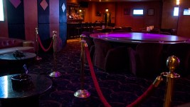 Inside the Diamond Cabaret, Feb. 15, 2018. (Kevin J. Beaty/Denverite)  strip club; nightlife; denver; colorado; colfax; denverite;