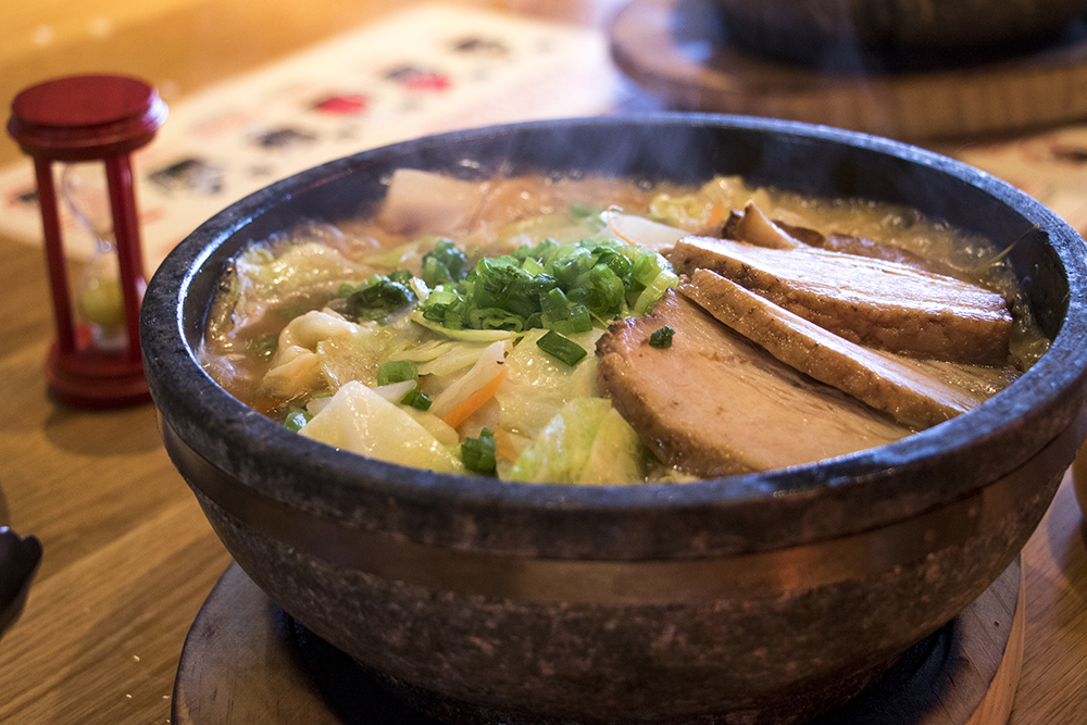 Kazan Shoyu Ramen at Kazan Ramen on Tennyson Street, Feb. 16, 2018. (Kevin J. Beaty/Denverite)  food; restaurant; tennyson; berkeley; denver; denverite; kevinjbeaty; colorado;