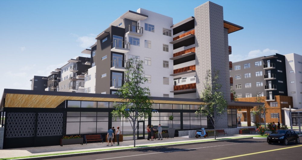 Phase two of Denver Housing Authority's redevelopment of the Sun Valley Homes community. (Courtesy of Denver Housing Authority)