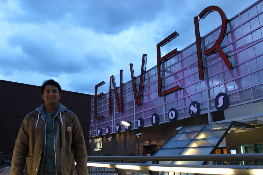 Enver Siddiky at the Denver Pavilions. (Courtesy of Enver Siddiky)