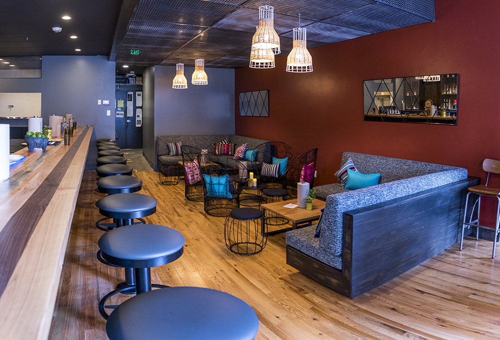 Los Chingones' new space on Larimer Street, Los Lounge, is open for business, March 23, 2018. (Kevin J. Beaty/Denverite)  food; nightlife; rino; five points; denver; colorado; denverite; kevinjbeaty;