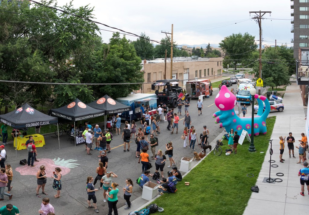 The Denverite Detour on Bike To Work Day, June 27, 2018. (Kevin J. Beaty/Denverite)