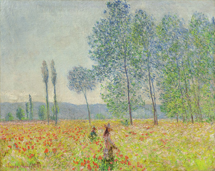 "Claude Monet's ""Sous les Peupliers."" (Courtesy of Denver Art Museum)"