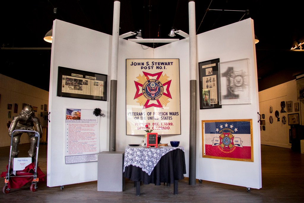 Veterans of Foreign Wars Post 1 on Santa Fe Drive, Aug. 8, 2018. (Kevin J. Beaty/Denverite)