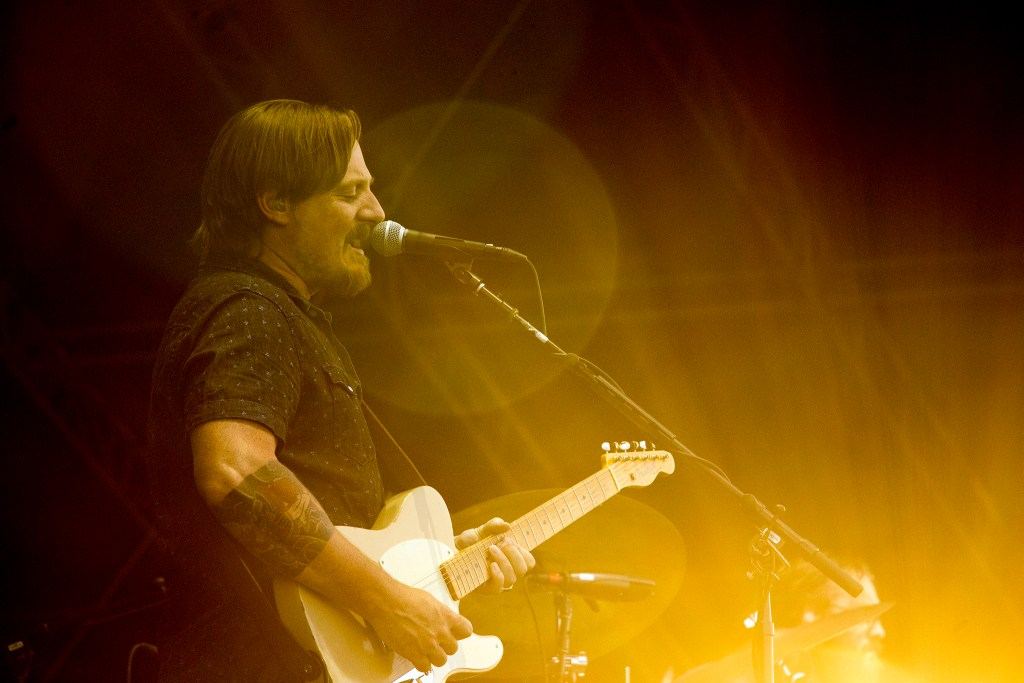 Sturgill Simpson plays Grandoozy at Overland Golf Course, Sept. 15, 2018. (Kevin J. Beaty/Denverite)