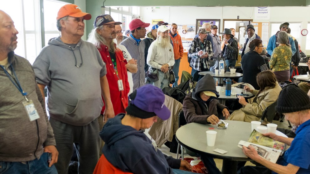 Inside Senior Support Services in North Capitol Hill, Oct. 17, 2018. (Kevin J. Beaty/Denverite)