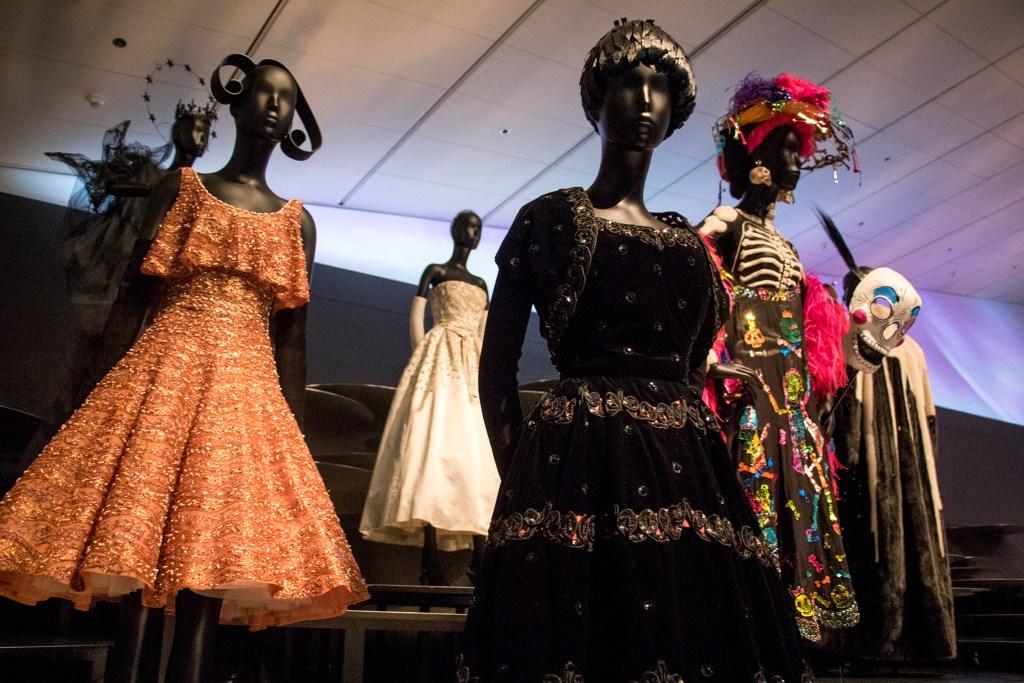 The Christian Dior exhibit at the Denver Art Museum, Nov. 21, 2018. (Kevin J. Beaty/Denverite)