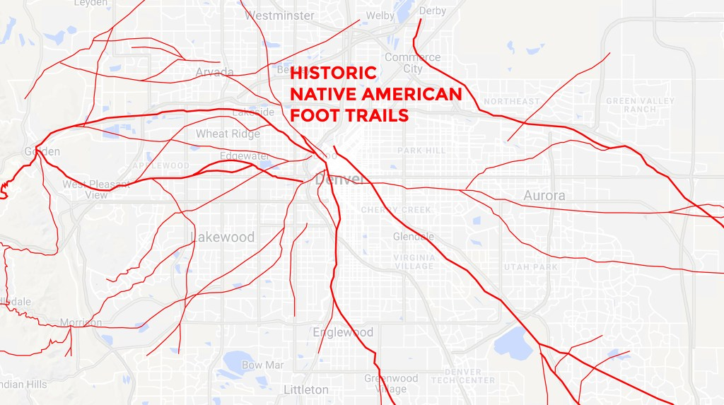 This is what thousands of years of Denver traffic looks like ...