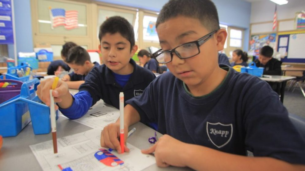 Denver's Knapp Elementary School was recognized by the state for its high student growth scores. (Courtesy Knapp Elementary)