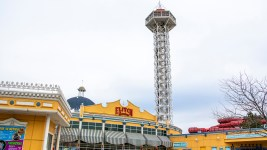 Elitch Gardens, April 12, 2019. (Kevin J. Beaty/Denverite)