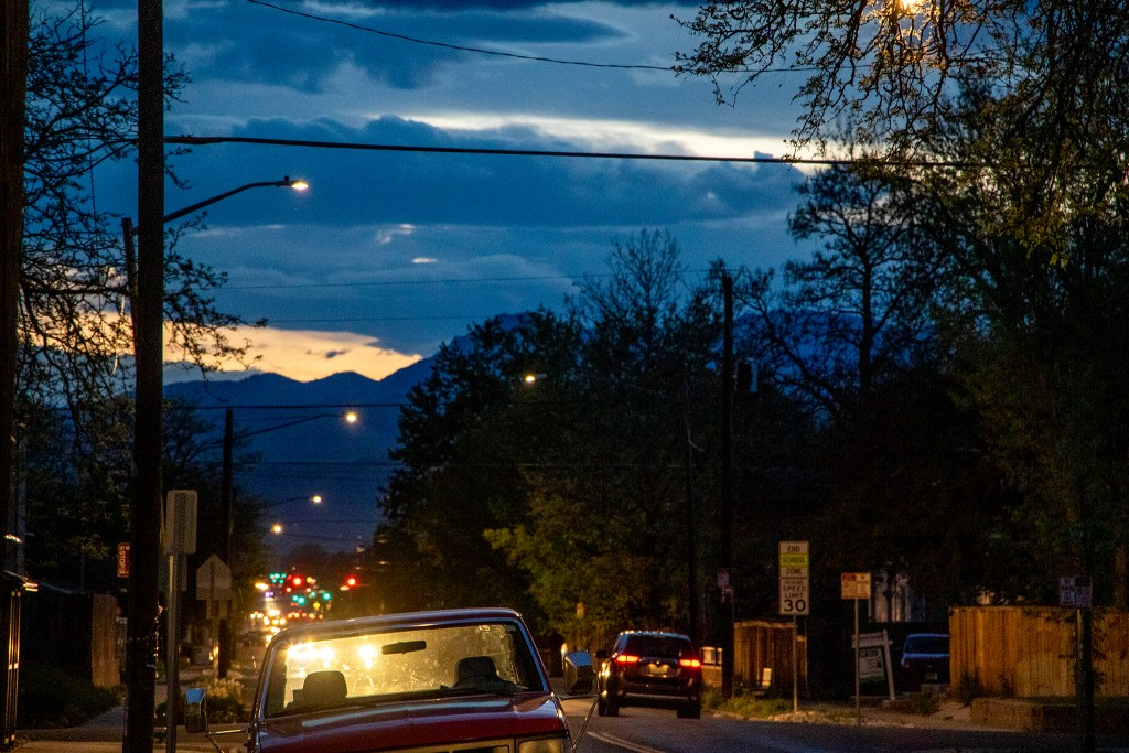 New LED street lights in Berkeley, May 15, 2019. (Kevin J. Beaty/Denverite)