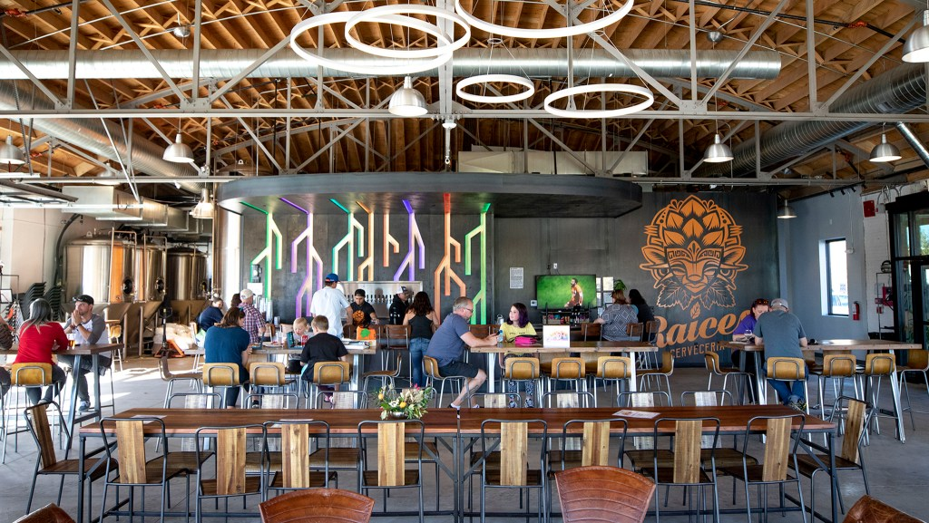 Raices Brewing Co. is now open in Sun Valley, Oct. 26, 2019. (Kevin J. Beaty/Denverite)