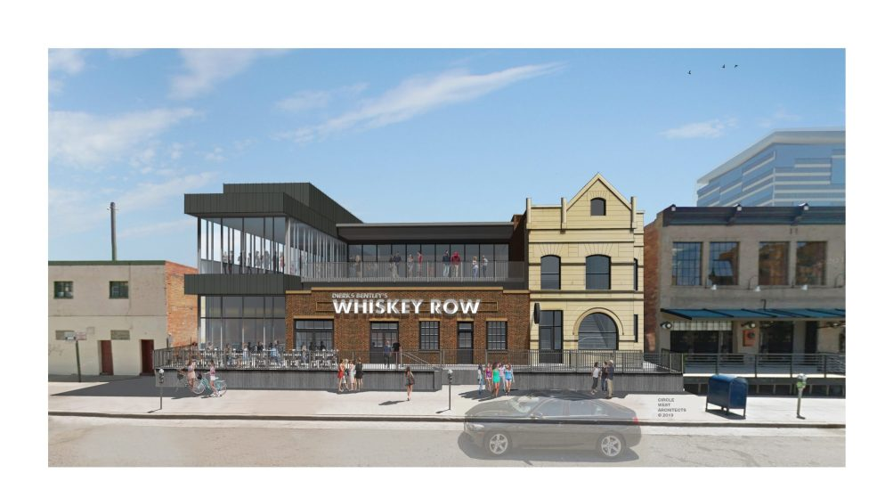 A rendering of the future Whiskey Row on Market Street. (Courtesy of Circle West Architects)