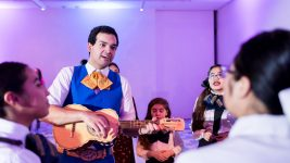 Hibachi mariachi during a previous show at MCA Denver. (Photo Courtesy of MCA Denver)