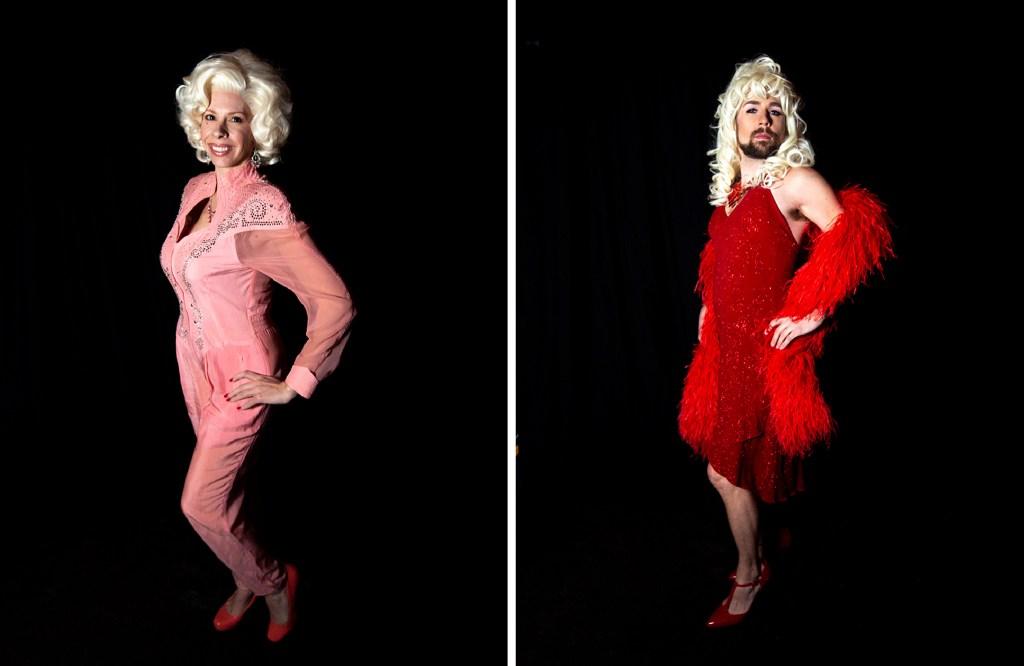 Megan Hickey and Charlie Valentine. Dolly Day Denver, Jan. 26, 2020. (Kevin J. Beaty/Denverite)